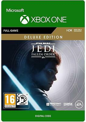 STAR WARS Jedi Fallen Order Deluxe Edition Game Key - Xbox One Download Code UK