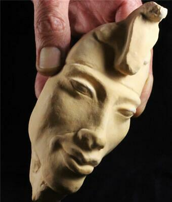 AKHENATEN The Revolutionary Pharaoh  Egyptian stone statue ancient replica