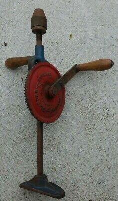 Vintage Fleetwood Clipper Hand Drill Made In England