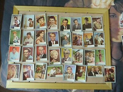 33x vintage who-z-at star trading cards