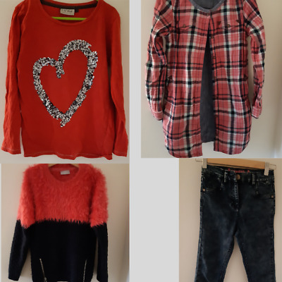 Next Girls Clothing Outfit 8 years Jeans, Tops and Shirts - also Matalan Jumper