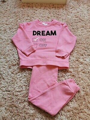 Girls River Island Jogging/Lounge Outfit Age 5-6 Years