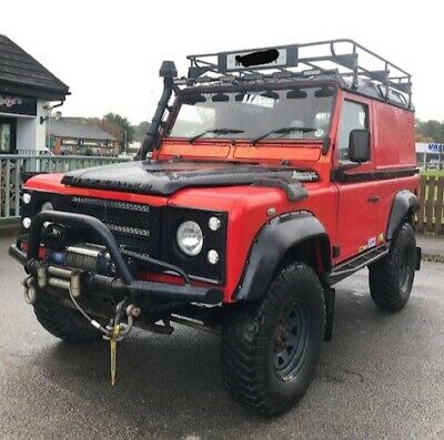 2000 W LAND ROVER 90 DEFENDER TD5 4x4 OFF ROAD MODIFIED 3 INCH LIFT ALIVE TUNED