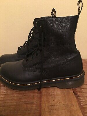 Dr Martens Pascal Virginia Black Size 8 Women Very Soft Leather