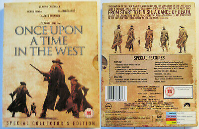 Once Upon A Time In The West (Leone) Paramount Region 2 Pal 2Dvd Special Edition