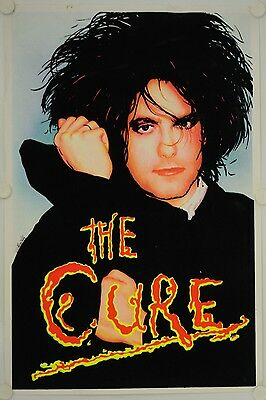 Affiche THE CURE - ROBERT SMITH relief velours