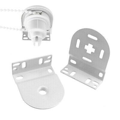 32mm Professional Heavy Duty White Roller Blind Repair Kit Brackets For Spares