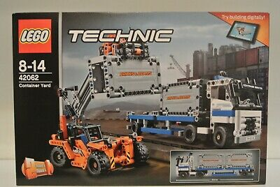 Lego Technic 42062 - Container Yard - BRAND NEW/FACTORY SEALED