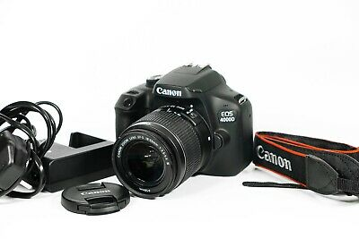 Canon EOS 4000D 18 MP Digital SLR Camera Kit with 18-55mm EFS III lens