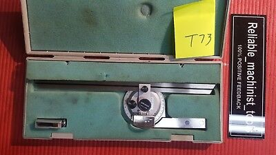 Japan Made Mitutoyo Vernier Protractor ( Machinist Tools)T73