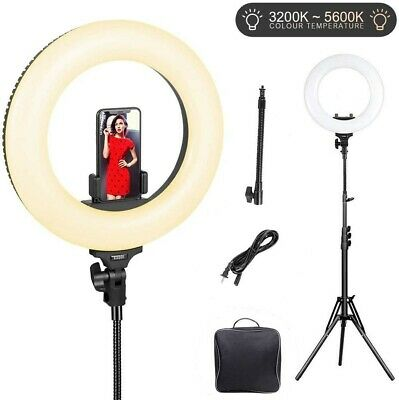 Ring Light with Stand LED ESDDI Ring Light for Selfie Makeup Camera 14 inch...