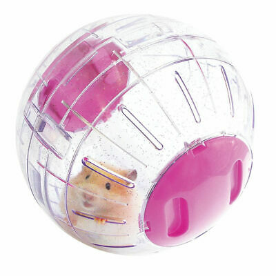 Rosewood Boredom Breaker Small Animal Activity Toy Purple Hamster Ball 18cm Dia