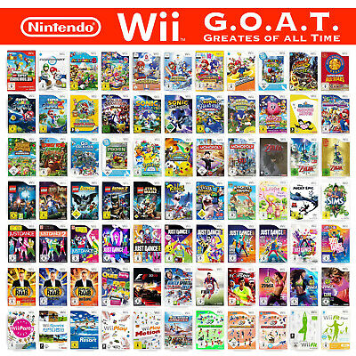 Nintendo Wii Spiele-Wahl (inkl. Anleitung) Action 🚨 Party 🎉 Sport 🏃♀️🏃