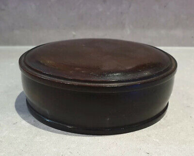 Good Large Chinese Qing Period Pierced Carved Wood Wooden Vase Lid Cover