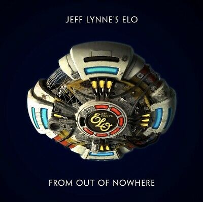 Jeff Lynne's ELO - From Out of Nowhere (2019) BRAND NEW CD
