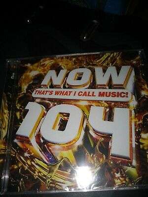 Now Thats What I Call Music 104 - Various Artists BN [CD]