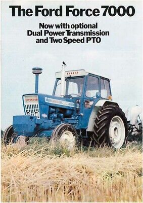 Fordson Super Major Industry Brochure Poster Advert Cover  ULTRA RARE A3