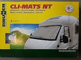 Brunner Internal Thermal Blinds Silver Screens Fiat Ducato Boxer Relay
