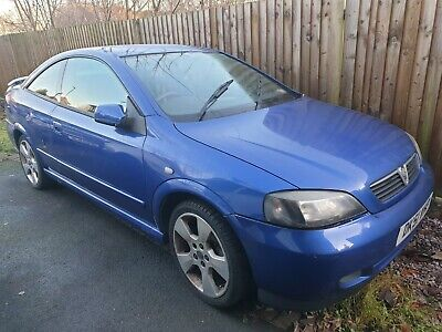 Vauxhall astra bertone coupe se1 2001 51 plate low mileage no previous owners