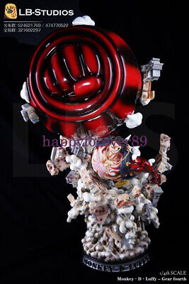 One Piece Lb Studio 1 4 Monkey D Luffy Gear Fourth Resin Gk