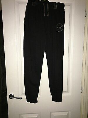 Nyc Black Joggers 12-13 Years Boys Or Girls