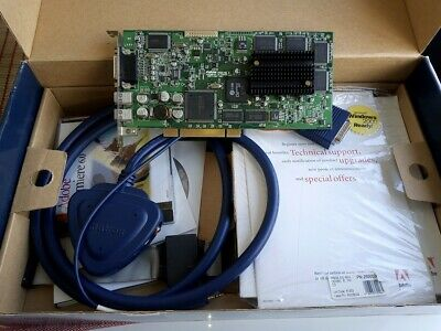 Matrox RT2500 PCI FireWire Video Editing Capture Card