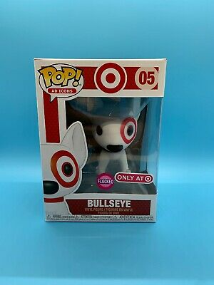 Funko POP! Ad Icons Target Bullseye Flocked with Red Collar Target Exclusive EX+