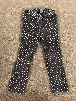 Girls Baby Gap Star Christmas Cord Trousers Age 5