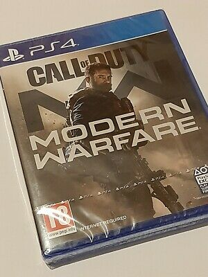 Call of Duty: Modern Warfare (PlayStation 4, 2019) PS4