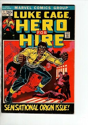 Luke Cage, Hero for hire #1 - 1st appearance & origin of Luke Cage