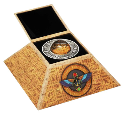 Tuvalu 2019 Golden Treasures of Ancient Egypt 2$ 2 oz silver coin