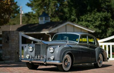 1958 Rolls Royce Silver Cloud Series 1 1958 Rolls Royce Silver Cloud Series 1  Shell Grey  6 Cylinder Excellent