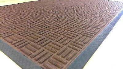 Indoor/outdoor brown Commercial Mat 1200x900mm Kitchen Bar Wet Area Road safety