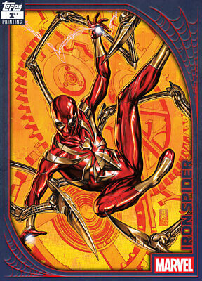 Topps Marvel Collect Iron Spider Suit SPIDEY SUITS 1ST PRINTING [DIGITAL] 250cc