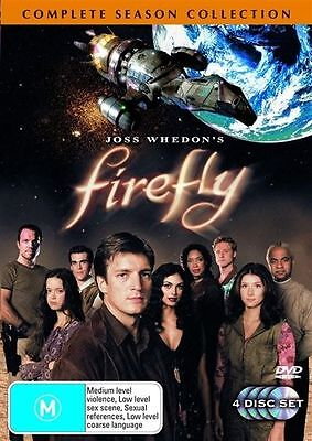 Firefly :Complete Season Collection (DVD 4-Disc Set) New/Sealed Region 4  series