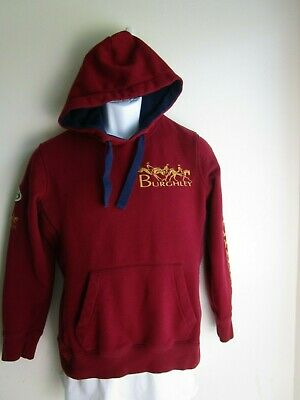 JOULES Burghley Horse Trials Land Rover Stamfort 3 Day Event Red Hoodie Sz 8