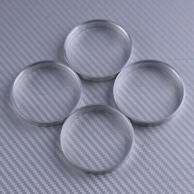 4pcs High Quality Aluminum Alloy Wheel Spacer Hub Centric Rings 73.1OD to 54.1ID