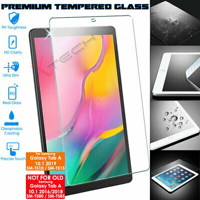 """TEMPERED GLASS Screen Protector for Samsung Galaxy Tab A 10.1"""" 2019 (SM-T510)"""