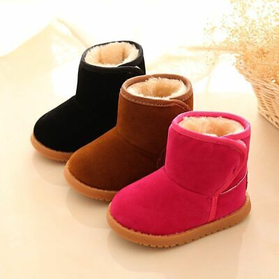 Kids Girls boots Toddlers Children Girls boots Winter Comfy Girls Thick