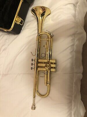 Bach Soloist Trumpet in a Hard Case Made In USA
