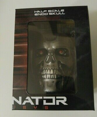 Chronicle Collectibles Loot Crate NIB Half Scale Endo Skull Terminator Genisys