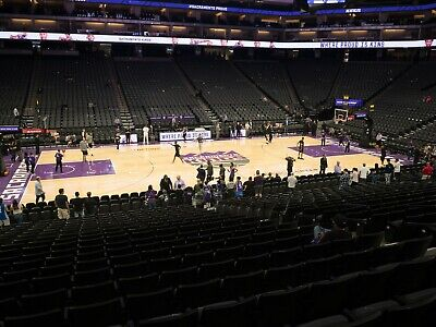 Golden State Warriors @ Sacramento Kings 1/6.  Great lower level seats.