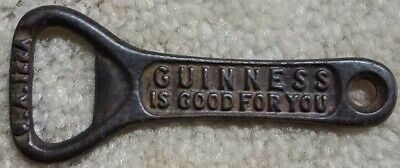Guinness is Good For You Cast Iron Bottle Opener Variation Not Common