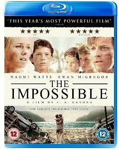 The Impossible (Blu-ray, 2013)