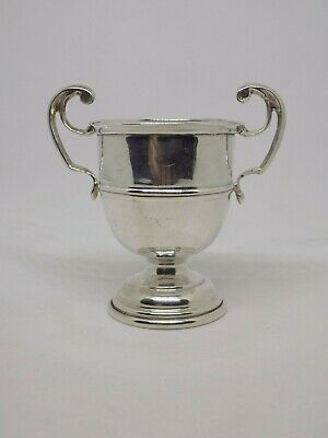 "Solid Sterling Silver Trophy. 29G. 2.5"". London 1907. full english hallmarks"