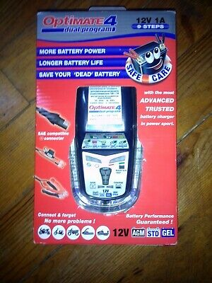 Chargeur batterie moto Optimate 4 12V 1A NEUFS