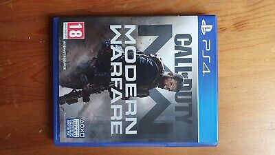 Call of Duty Modern Warfare PS4 2019 - Excellent Condition