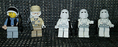 LEGO STAR WARS:  5 Mini Figuren ★ 2 Rebellen & 3 Snowtrooper