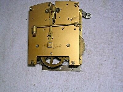 Clock  Parts   Enfield . Brass  Movement  , .W.o.
