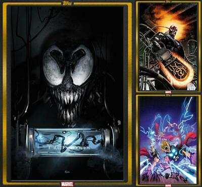 Topps Marvel Collect COMIC BOOK DAY Dec 4 2019 [3 CARD GOLD SET] Venom 2099++